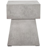 Ekon 18 inch Dark Grey Outdoor Stool