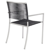 Moe's Home Collection BQ-1029-15 Brynn Black Outdoor Dining Chair, Set of 4 alternative photo thumbnail