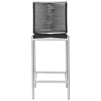 Brynn 43 inch Black Outdoor Bar Stool