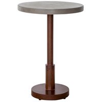 Othello 42 X 30 inch Dark Brown Outdoor Bar Table