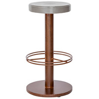 Othello 30 inch Dark Brown Outdoor Bar Stool