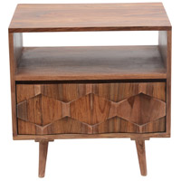 O2 22 X 22 inch Natural Nightstand