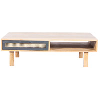 Ashton 45 X 24 inch Natural Coffee Table