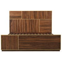 Focus Dark Brown Bed, King