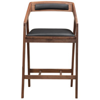 Padma 37 inch Black Counter Stool