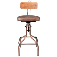 National 40 inch Copper Bar Stool