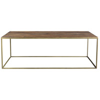 Moe's Home Collection DR-1301-24 Meadow 48 X 24 inch Natural Coffee Table