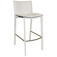 Panca 36 inch White Counter Stool