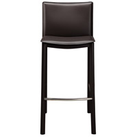 Panca 36 inch Dark Brown Counter Stool
