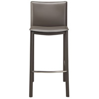 Panca 36 inch Charcoal Counter Stool
