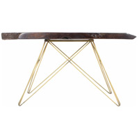 Tectona 55 X 16 inch Dark Brown Console Table