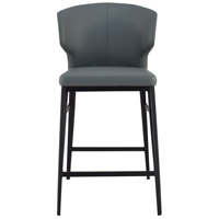 Delaney 39 inch Grey Counter Stool