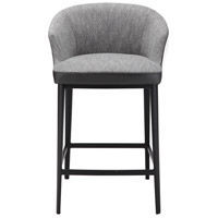 Beckett 34 inch Grey Counter Stool