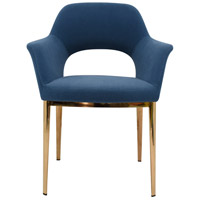 Moe's Home Collection EJ-1035-45 Carmel Blue Dining Chair