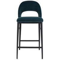 Roger 38 inch Teal Counter Stool