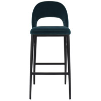 Roger 42 inch Teal Bar Stool