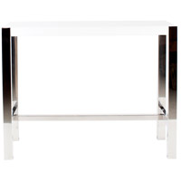 Riva White Counter Table