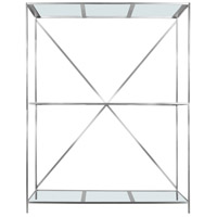 Moe's Home Collection ER-1152-17 Chair and Stool 93 X 72 X 28 inch Clear Shelf