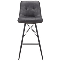 Morrison 40 inch Grey Bar Stool