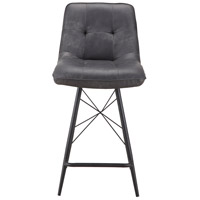 Morrison 36 inch Grey Counter Stool