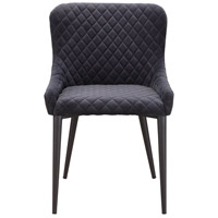 Moe's Home Collection ER-2047-25 Etta Dark Grey Dining Chair