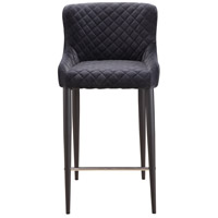 Etta 37 inch Dark Grey Counter Stool