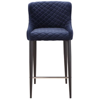 Etta 37 inch Dark Blue Counter Stool