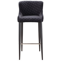 Etta 41 inch Dark Grey Bar Stool