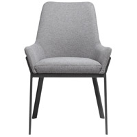 Moe's Home Collection ER-2082-25 Lloyd Dark Grey Dining Chair, Set of 2