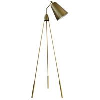 Moes Home Collection FD-1000-32 Amato 68 inch 25 watt Gold Floor Lamp Portable Light