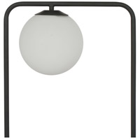 Moes Home Collection FD-1034-02 Whistler 55 inch 25 watt Black Floor Lamp Portable Light