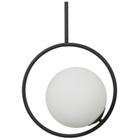 Moes Home Collection FD-1035-02 Voyager 1 Light 16 inch Black Pendant Ceiling Light
