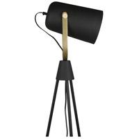 Moes Home Collection FD-1041-02 Spotlight 73 inch 25 watt Black Floor Lamp Portable Light