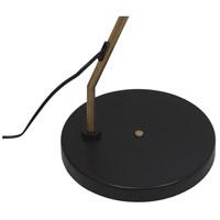Moes Home Collection FD-1051-02 Reflex 63 inch 25 watt Black Floor Lamp Portable Light