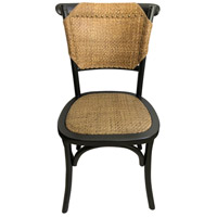 Moe's Home Collection FG-1011-02 Colmar Black Dining Chair, Set of 2