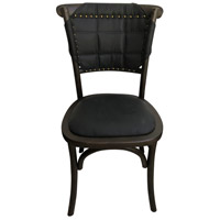 Moe's Home Collection FG-1012-02 Faroe Black Dining Chair, Set of 2