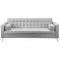 Covella Light Grey Sofa Bed
