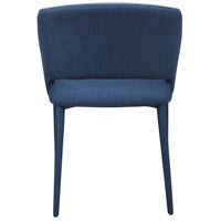 Moe's Home Collection HK-1002-26 William Navy Blue Dining Chair