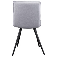 Moe's Home Collection HK-1011-15 Jojo T-Shirt Grey Dining Chair, Set of 2