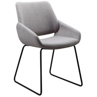 Moe's Home Collection HK-1014-29 Lisboa Light Grey Dining Chair