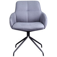Kingpin Grey Swivel Chair