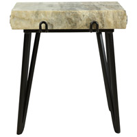 Alpert 22 X 19 inch Sand Accent Table
