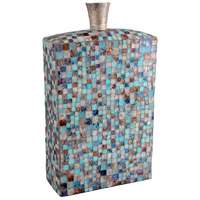 Moe's Home Collection IX-1078-28 Azul Mosaic 18 X 10 inch Vase, Tall