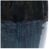 Moe's Home Collection IX-1095-19 Blue Mountain 19 X 16 inch Vase, Short alternative photo thumbnail