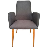 Moe's Home Collection JG-1010-07 Chesney Grey Dining Chair