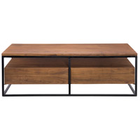 Moe's Home Collection LX-1024-03 Vancouver 52 X 26 inch Light Brown Coffee Table