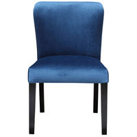 Moe's Home Collection ME-1040-26 Hopper Blue Dining Chair, Set of 2