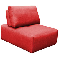 Nathaniel Red Slipper Chair