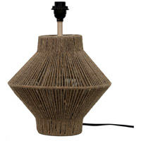 Moes Home Collection OD-1011-24 Newport 22 inch 60 watt Natural Table Lamp Portable Light