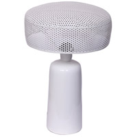 Moes Home Collection OD-1013-18 Harlin 17 inch 6.00 watt White Table Lamp Portable Light